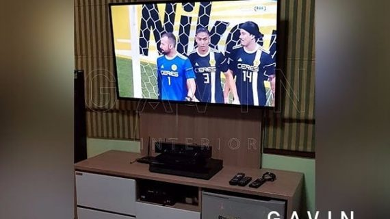 Backdrop TV Anti Rayap dengan Brand Terpercaya