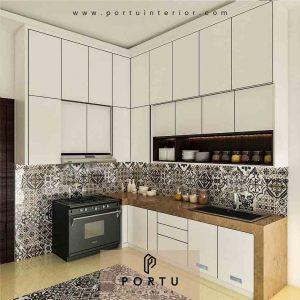 Kitchen Set UPVC Solusi Dapur Bebas Rayap dan Lembab ID4246P
