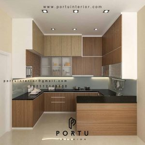 Kitchen Set dan Meja Bar Minimalis