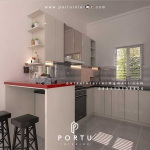 Model Kitchen Set Minimalis Mewah Pilihan Paling Cerdas