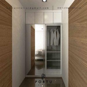 Custom Walk In closet Minimalis Mungil Id2484